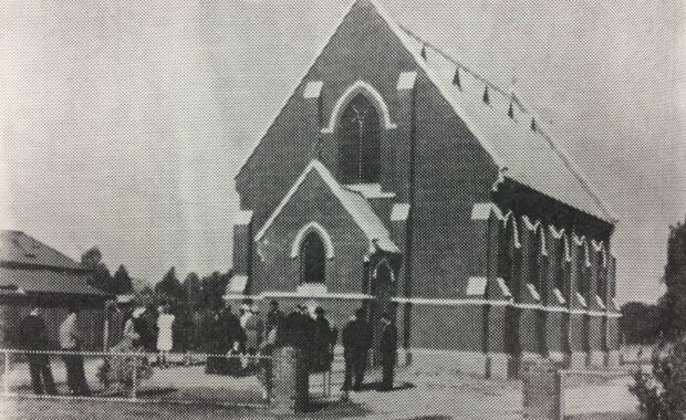 The original Presbyterian Church of Berrigan