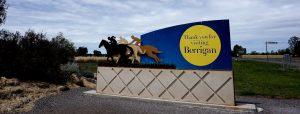 Berrigan entry sign