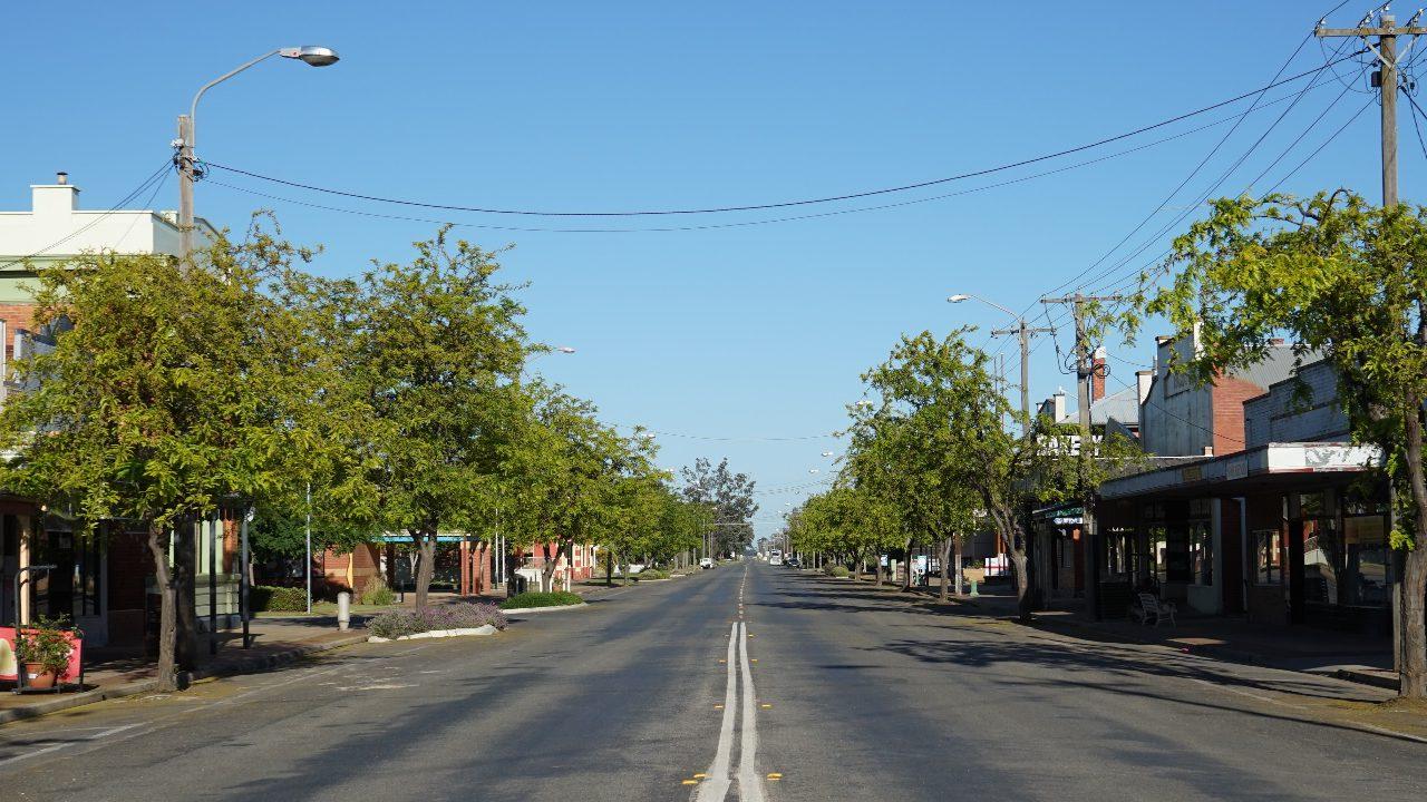 Berrigan Chanter Street