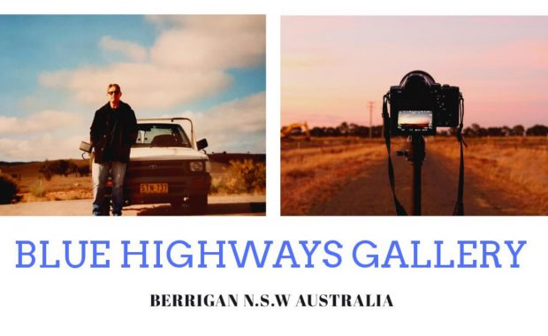 Blue Highways Gallery Business Card