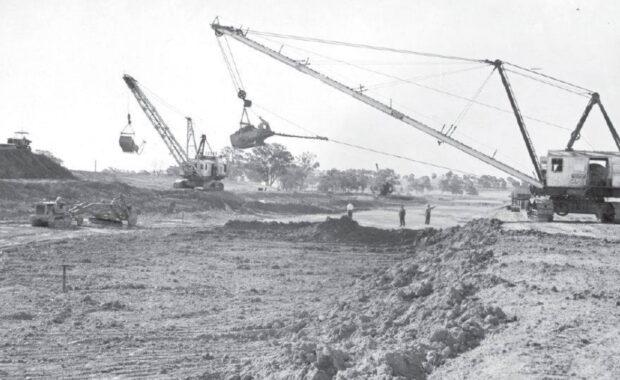 Digging Mulwala Canal