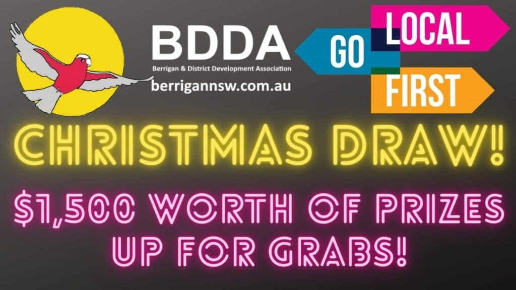 1500 berrigan christmas draw