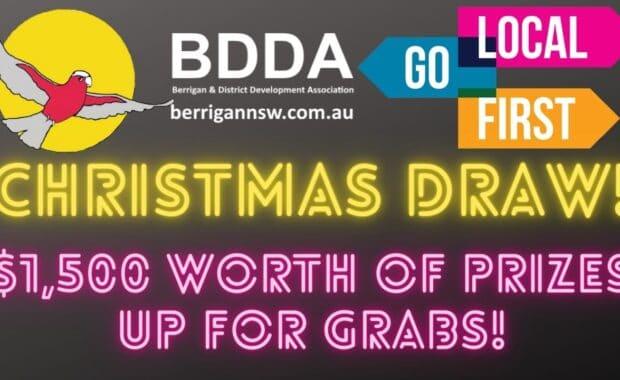 1500 berrigan christmas draw