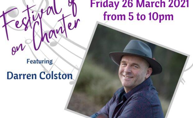 Darren Colston - Festival of Music on Chanter