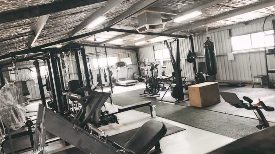 2712 Fitness layout