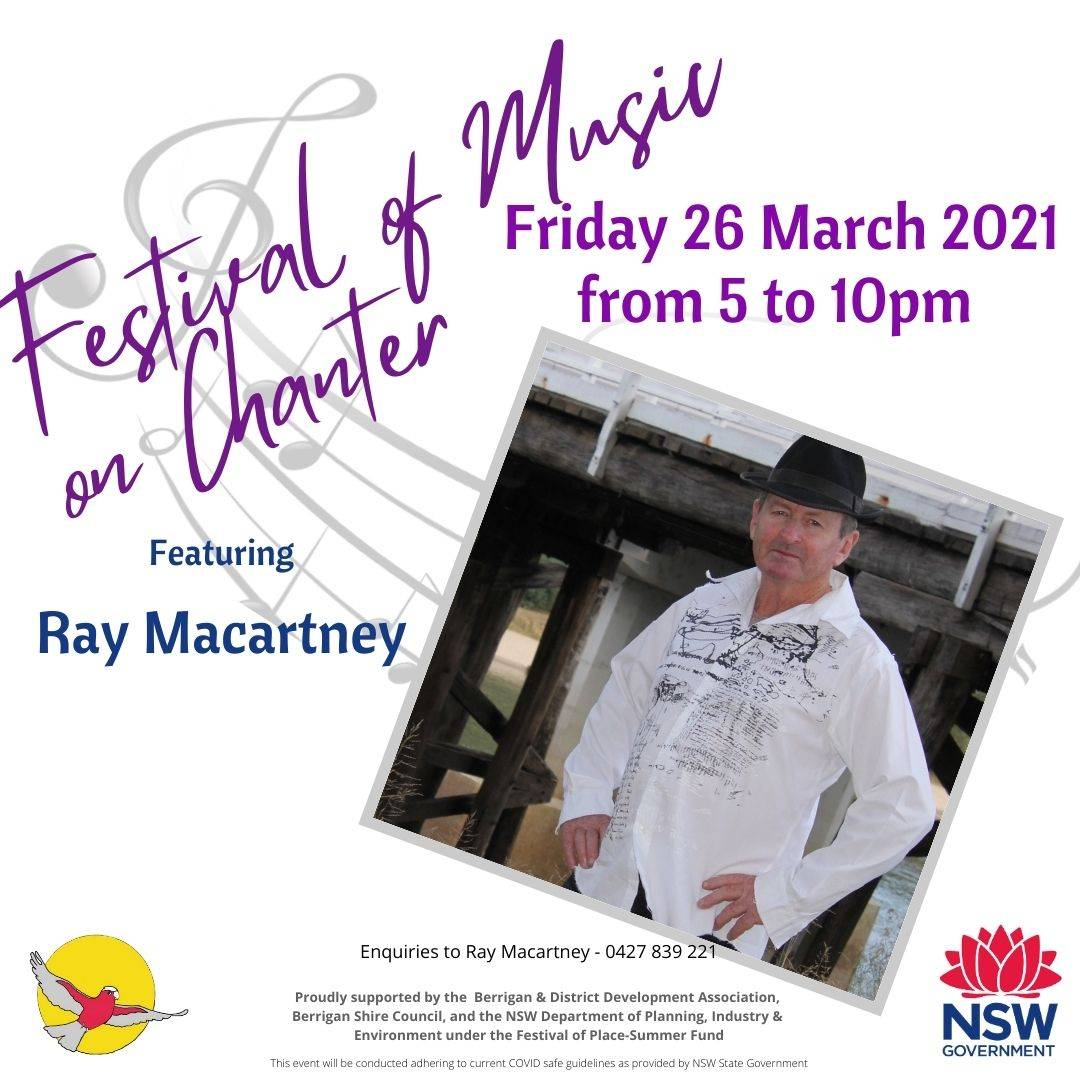 Ray Macartney - Festival of Music on Chanter
