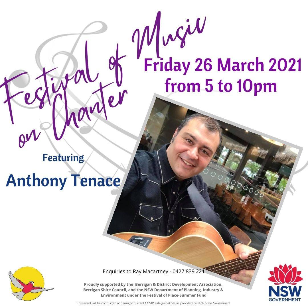 Anthony Tenace - Festival of Music on Chanter