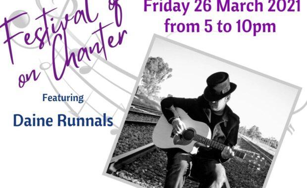 Daine Runnels - Festival of Music on Chanter