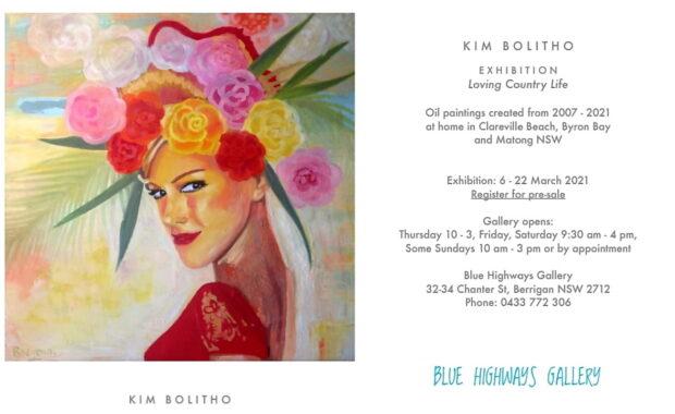 Kim Bolitho at Blue Highways Gallery